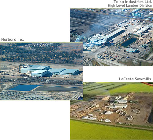 Ainsworth Engineered Canada LP and Tolko Industries Ltd.